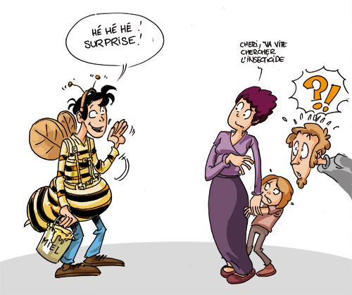 la mouche du coche - dictionnaire des expressions françaises